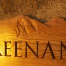 Mountgreenan house sign