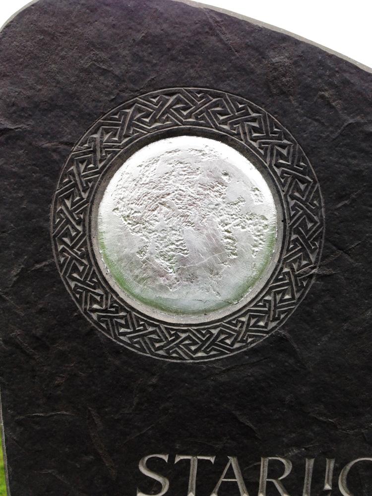 Silver moon memorial