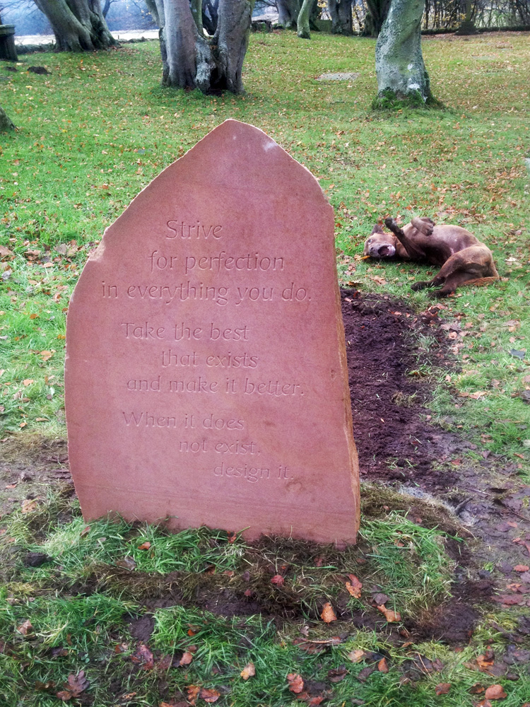 A second memorial for Gordonstoun