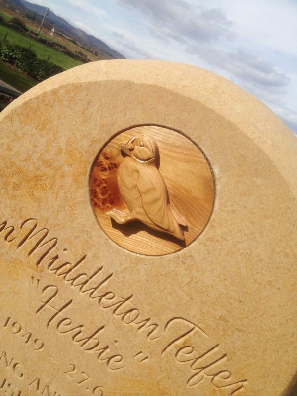 Memorial to a mason
